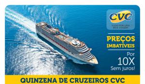 Quinzena de Cruzeiros CVC