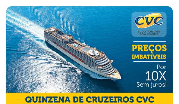 Cruzeiros CVC – Nova Temporada no Brasil