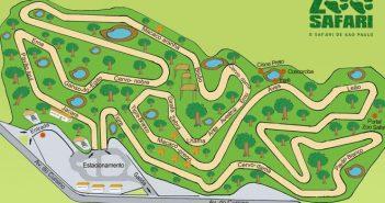 Mapa do Simba Safari
