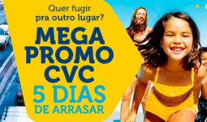 Mega Promoção na CVC para o segundo passageiro