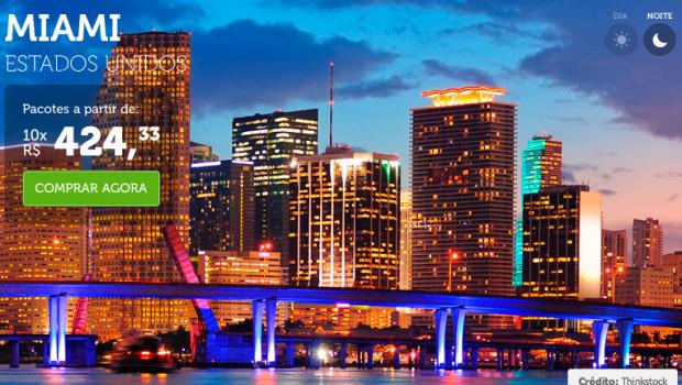 Viagens Promocionais CVC 2015 para Miami