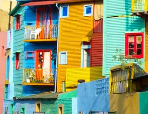 Visitas e Buenos Aires - La Boca