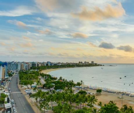 Os melhores hotéis e pousadas em Maceió