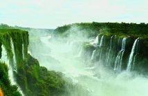 Quedas de água em Foz do Iguaçu