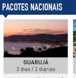 Pacotes Nacionais 2016: Guarujá, Camboriú e Porto Seguro