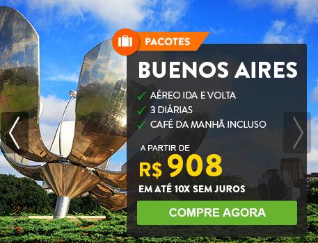 Pacotes para Buenos Aires: 3 Diárias + Café da Manhã + Aéreo